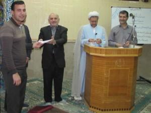 برگزاري مراسم قرعهکشی مسابقه سراسري غدير در شركت برق منطقهاي يزد
