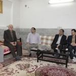 تکریم از همکار بازنشسته و ایثارگر شرکت برق منطقه ای یزد