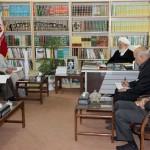 دیدار مدیران ارشد صنعت برق استان با نماینده ولی فقیه در یزد