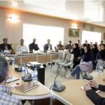 نشست صمیمانه مدیر عامل شرکت برق منطقه ای یزد با کارکنان بهره برداری