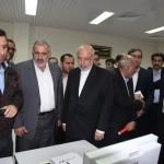 روایت تصویری از افتتاح نیروگاه تابان با حضور وزیر نیرو