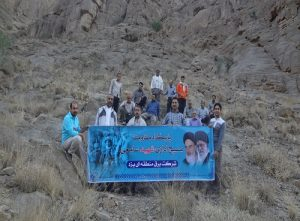 برگزاری اردوی فرهنگی تفریحی حلقه صالحین در هنزای مهریز
