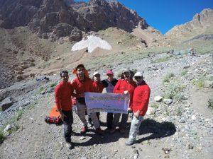 صعود سراسری گروه کوهنوردی شرکت برق منطقهای یزد به قله علم کوه