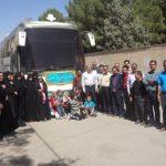 اعزام کاروان راهیان نور کارکنان شرکت برق منطقهای یزد به غرب کشور