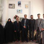 تجلیل مدیران صنعت برق استان یزد از خانوادههای شهدا در دهه فجر