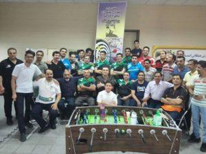 کسب مقام سوم مسابقات دارت رنکینگ مناطق مرکزی کشور توسط همکار