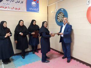 درخشش کارکنان برق منطقه ای یزد در مسابقات دارت جام رمضان استان