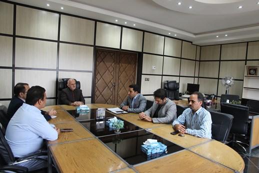 نشست صمیمی مدیرعامل برق منطقهای یزد با کارکنان روابط عمومی