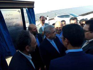 افتتاح نیروگاه خورشیدی ۱۰ مگاواتی پژواک اردکان