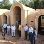 بازدید معاونان شرکت برق منطقهای یزد از پروژه ساخت «مهمانسرای سبز»