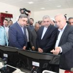 افتتاح پست ۴۰۰ کیلوولت شهید سامعی در یزد