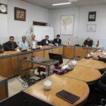 دیدار اعضای شورای پایگاه شهید سامعی با مدیرعامل شرکت برق منطقهای یزد