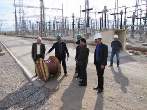 بازدید مدیرکل دفتر فنی و نظارت انتقال توانیر از معاونت بهرهبرداری شرکت برق منطقهای یزد