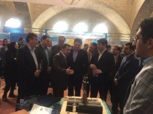 حضور مرکز پژوهشهای خورشیدی برق منطقهای یزد در نمایشگاه فن بازار استان