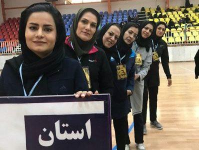 کسب مقام دوم تیمی توسط بانوان استان یزد در مسابقات کشوری