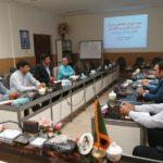 برگزاری جلسه شورای هماهنگی مدیریت بحران صنعت آب و برق استان به میزبانی برق منطقهای