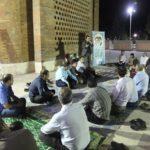 برگزاری جلسه زیارت عاشورا و حلقه صالحین در باغموزه دفاع مقدس یزد