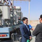 بهره برداری از برج های طرح جدید در خط ۶۳ رستاق – مزرعه کلانتر توسط برق منطقهای یزد