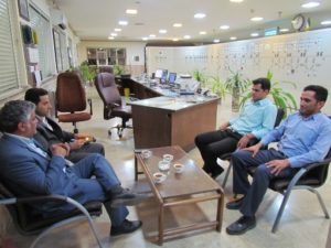دومین بازدید معاون بهرهبرداری و مدیر روابط عمومی شرکت برق منطقهای یزد از پستهای انتقال