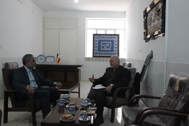 دیدار مدیرعامل برق منطقهای یزد با نماینده مردم تفت و میبد در مجلس شورای اسلامی