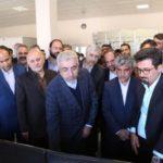 افتتاح پست ۲۳۰ کیلوولت ابرکوه یزد با حضور وزیر نیرو