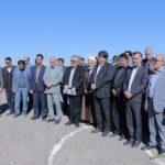 گزارش تصویری آغاز عملیات اجرایی پروژه احداث پست ۱۳۲ کیلوولت بهاباد با حضور استاندار یزد