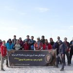 صعود کوهنوردان صنعت آب وبرق یادبود همکار برق منطقهای یزد