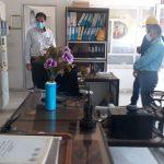 گزارش تصویری بازدید مدیرعامل شرکت برق منطقهای یزد از پستهای انتقال و فوق توزیع استان یزد