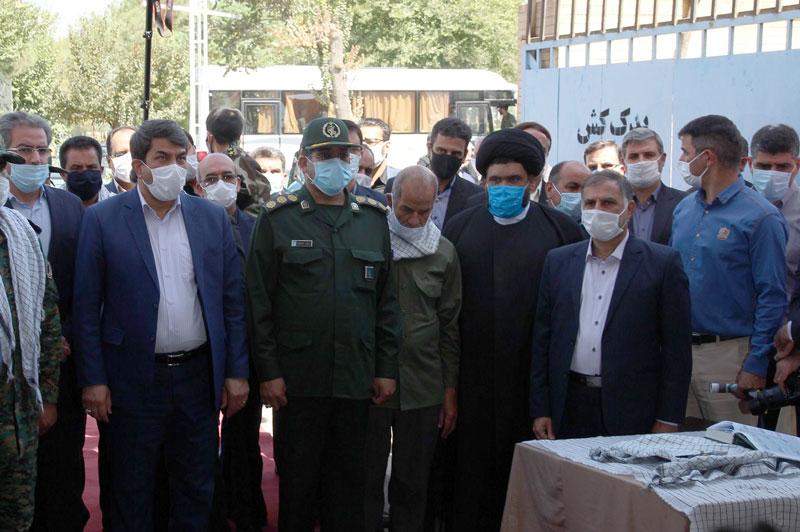 حضور شرکت برق منطقهای یزد در نمایشگاه دفاع مقدس