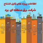 پروژه های افتتاح شده برق منطقهای یزد توسط وزیر نیرو در نوزدهمین هفته از پویش #هر_هفته_الف_ب_ایران