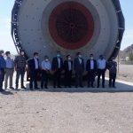 بازدید مدیرعامل برق منطقهای یزد از معدن سرب و روی مهدی آباد