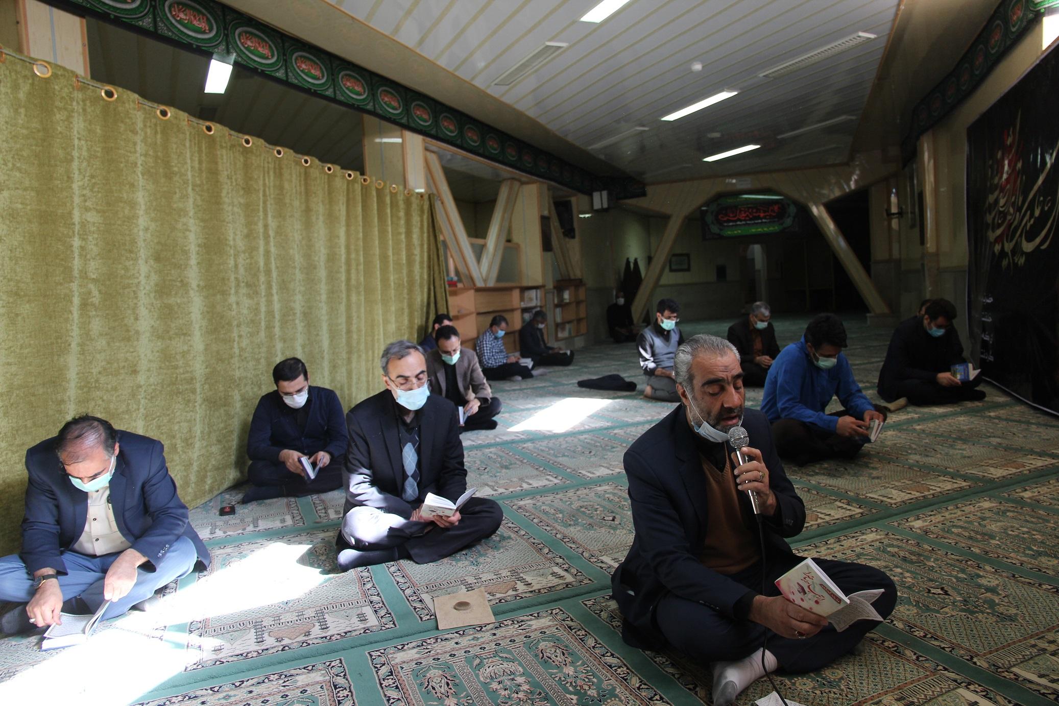 برگزاری مراسم عزاداری ایام فاطمیه در برق منطقهای یزد
