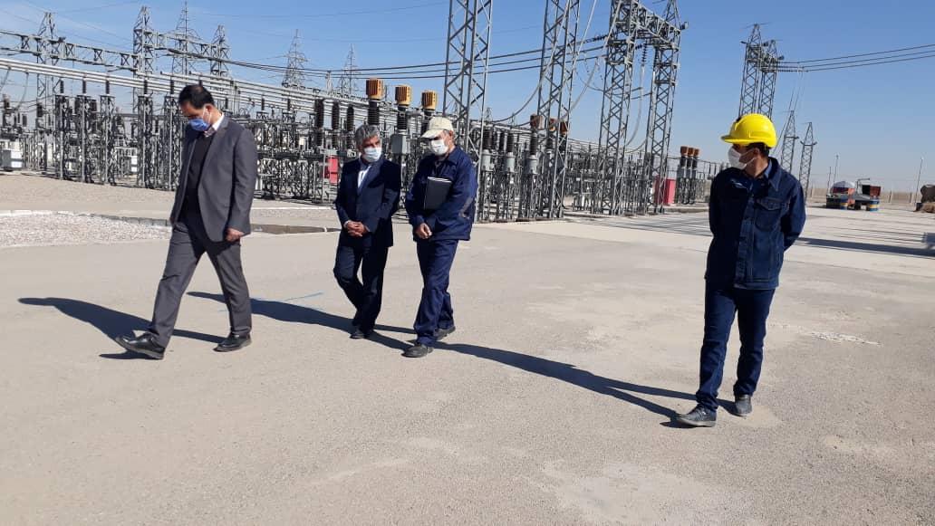 گزارش تصویری بازدید مدیرعامل برق منطقه ای یزد از پست های رستاق و شهید سامعی