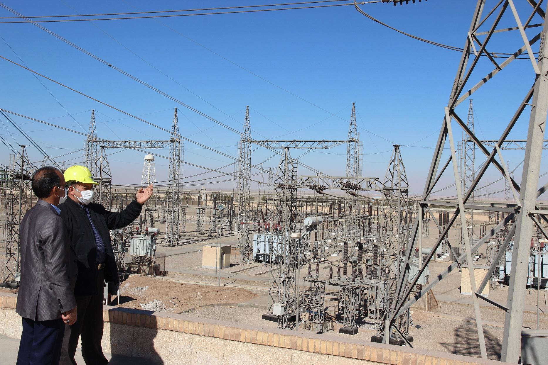 عملکرد ده ماهه کارکنان پست یزد ۲ شرکت برق منطقهای یزد