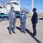 گزارش تصویری بازدید مدیرعامل برق منطقهای یزد از پستهای شهرستانهای یزد و مهریز