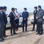 بازدید مدیرعامل برق منطقهای یزد از خط ۲۳۰ کیلوولت ابرکوه- اسمالون
