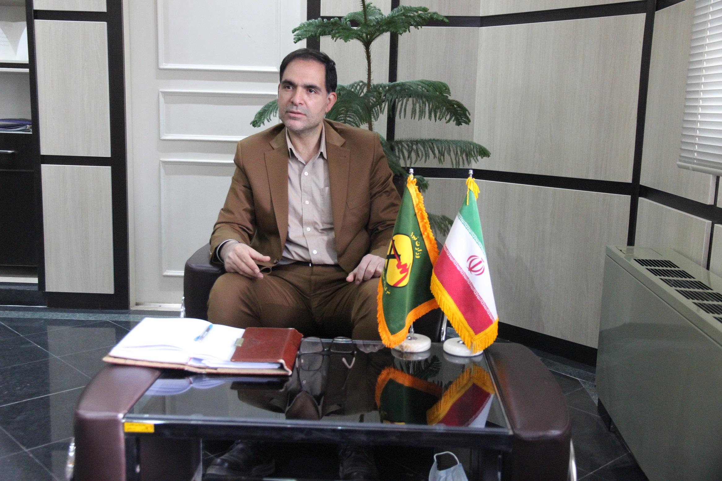 پیام تبریک مدیرعامل شرکت برق منطقهای یزد به مناسبت فرارسیدن عید نوروز سال ۱۴۰۰