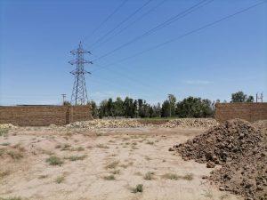 رفع حالت خطرناک نقض حریم سه خط ۶۳ کیلوولت برق منطقهای یزد