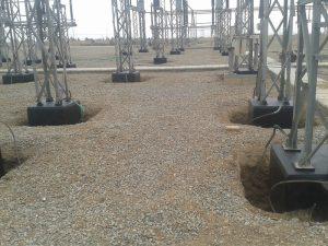 بهینه سازی فونداسیون تجهیزات پست ۴۰۰ کیلوولت یزد ۲ برق منطقهای یزد