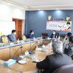 جلسه شورای هماهنگی حراستهای صنعت آب و برق استان به میزبانی برق منطقه ای یزد