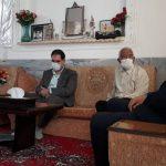 دیدار مدیرعامل شرکت برق منطقهای یزد با خانواده شهید این شرکت