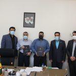 تجلیل از دو همکار ناشنوا در برق منطقهای یزد