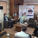 دیدار مدیرعامل برق منطقه ای یزد با فرمانده نیروی انتظامی استان